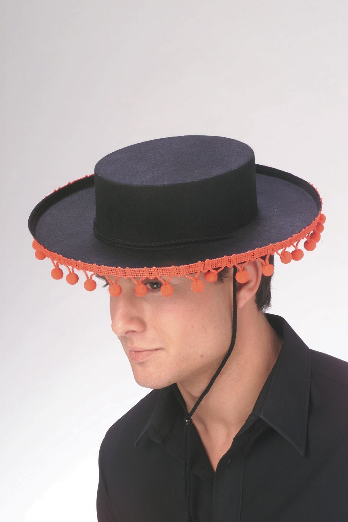 fc26a5a3b Spanish Hat With Red Poms