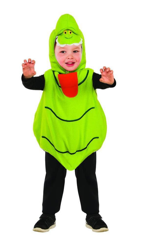 Rubies Costumes 2T Toddler Boys Slimer Romper Costume - Ghostbusters