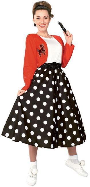 Rubies Costumes Adult 50s Polka Dot Rocker Costume