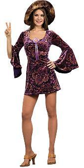 Rubies Costumes Adult 60s Girl Costume