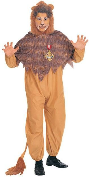 Rubies Costumes Adult Cowardly Lion Costume - Wizard of Oz