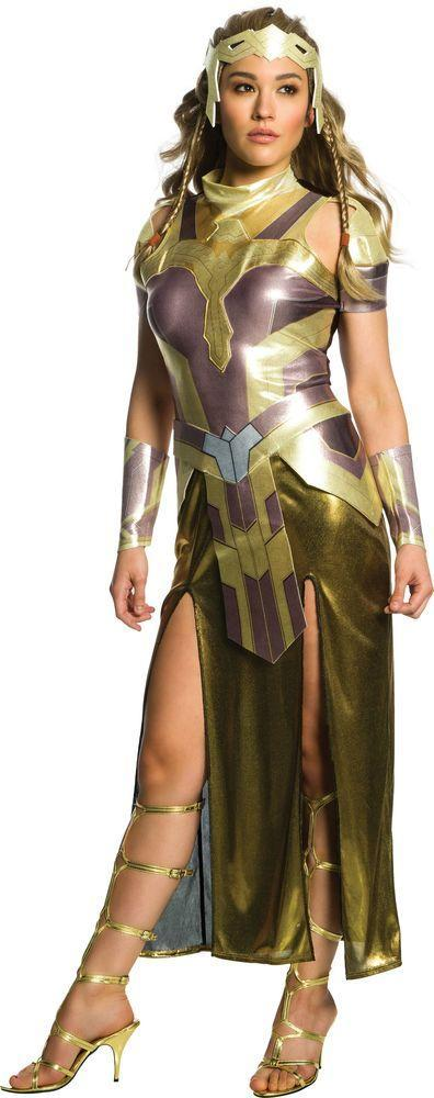 Rubies Costumes Adult Deluxe Hippolyta Costume - Wonder Woman