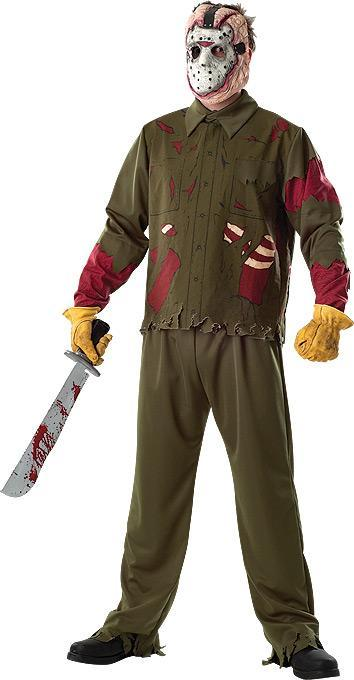 Rubies Costumes Adult Deluxe Jason Costume - Friday the 13th