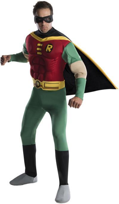 Rubies Costumes Adult Deluxe Muscle Chest Robin Costume