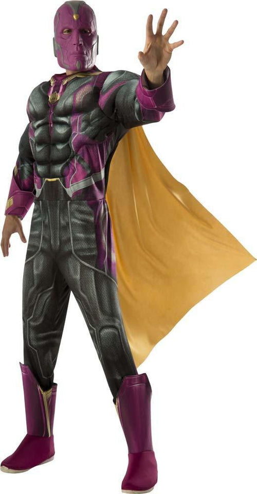 Rubies Costumes Adult Deluxe Vision Costume - Avengers 2