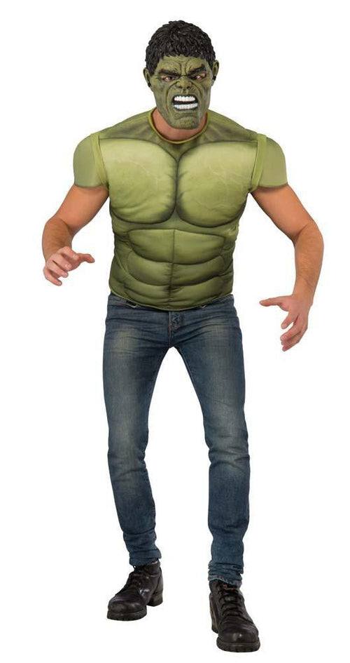 Rubies Costumes Adult Hulk Costume Top - Avengers 2