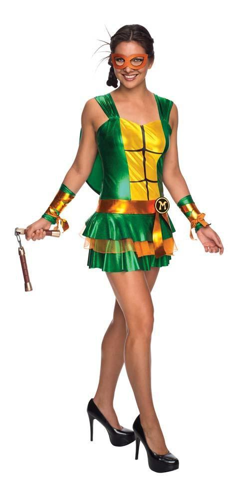 Rubies Costumes Adult Michelangelo Dress - Teenage Mutant Ninja Turtles