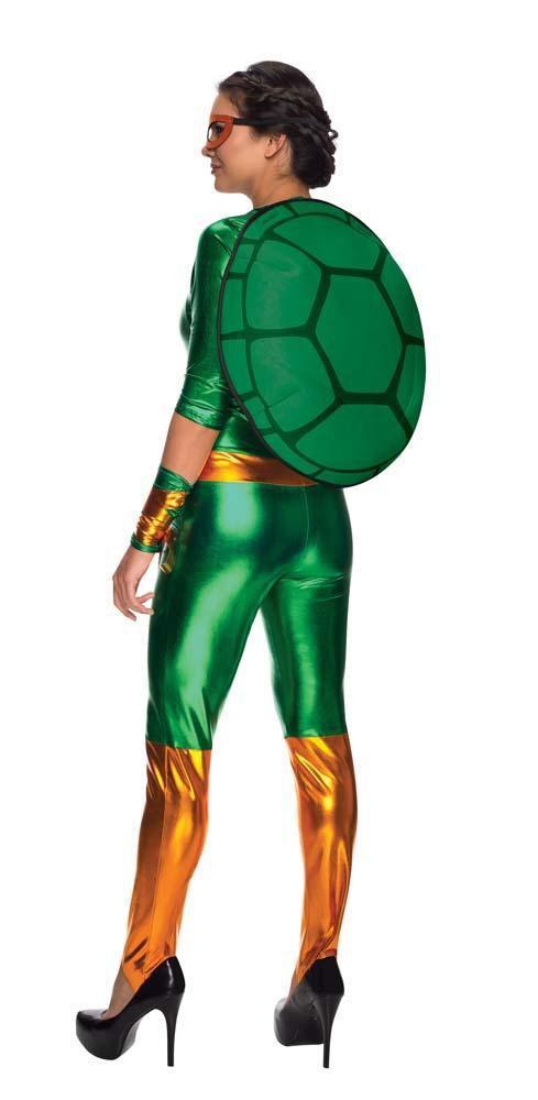 Rubies Costumes Adult Michelangelo Jumpsuit Costume - Teenage Mutant Ninja Turtles