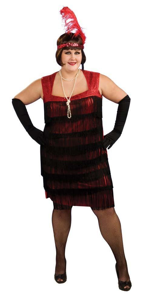 Rubies Costumes Adult Plus Size Flapper Costume
