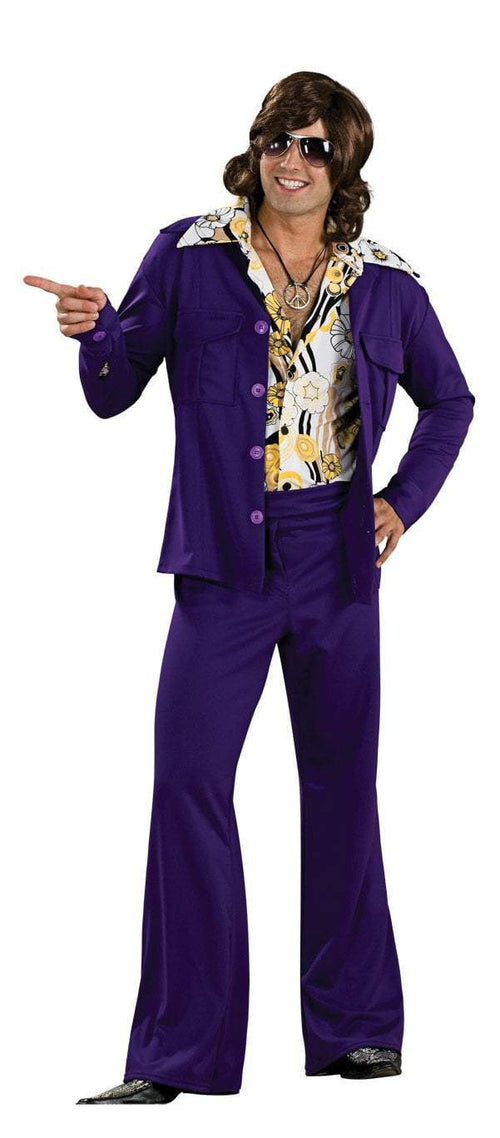 Rubies Costumes Adult Purple Leisure Suit