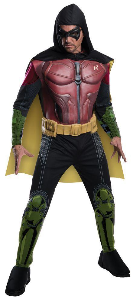Rubies Costumes Adult Robin Costume - Batman: Arkham City