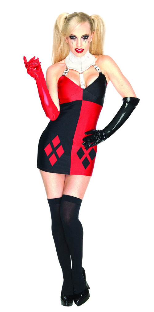 Rubies Costumes Adult Super Villan Harley Quinn Costume - Batman