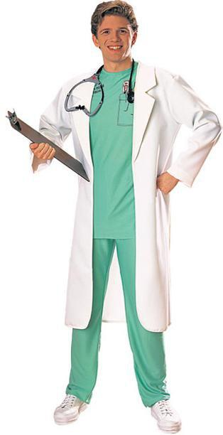 Rubies Costumes Adult  White Lab Coat