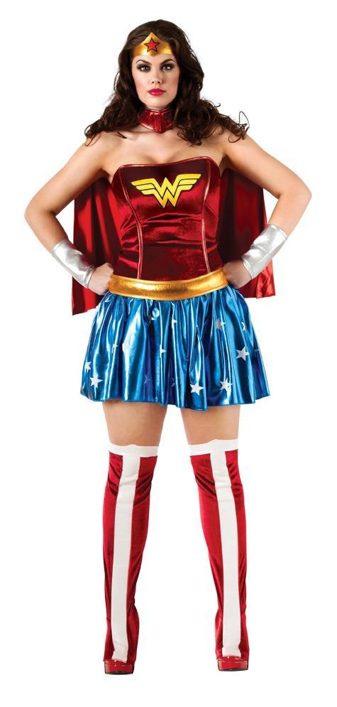 Rubies Costumes Adult Wonder Woman Plus Size Costume
