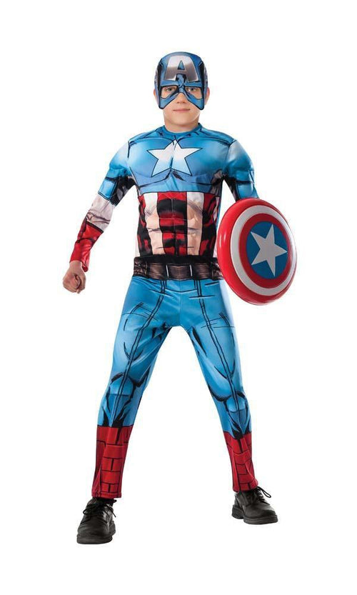Rubies Costumes Boys Captain America Costume