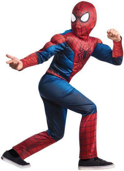 Rubies Costumes Boys Deluxe Amazing Spider-Man Costume