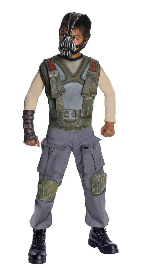 Rubies Costumes Boys Deluxe Bane Costume - Batman Dark Knight