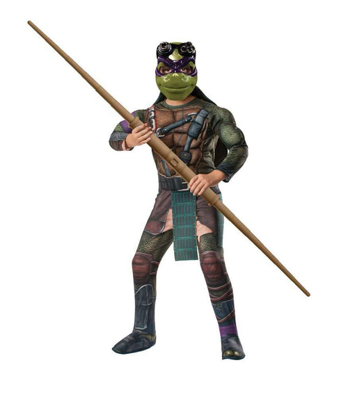 Rubies Costumes Boys Deluxe Donatello Costume - Teenage Mutant Ninja Turtles