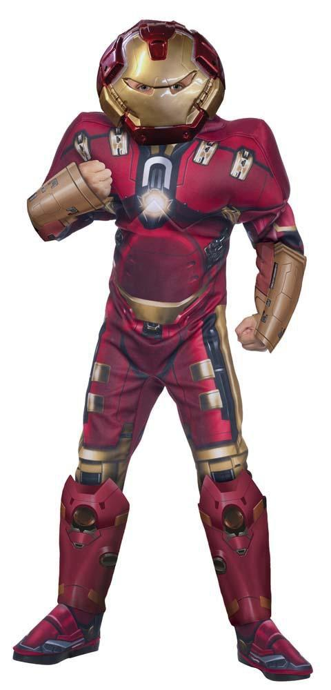 Rubies Costumes Boys Deluxe Hulk Buster Costume - Iron Man