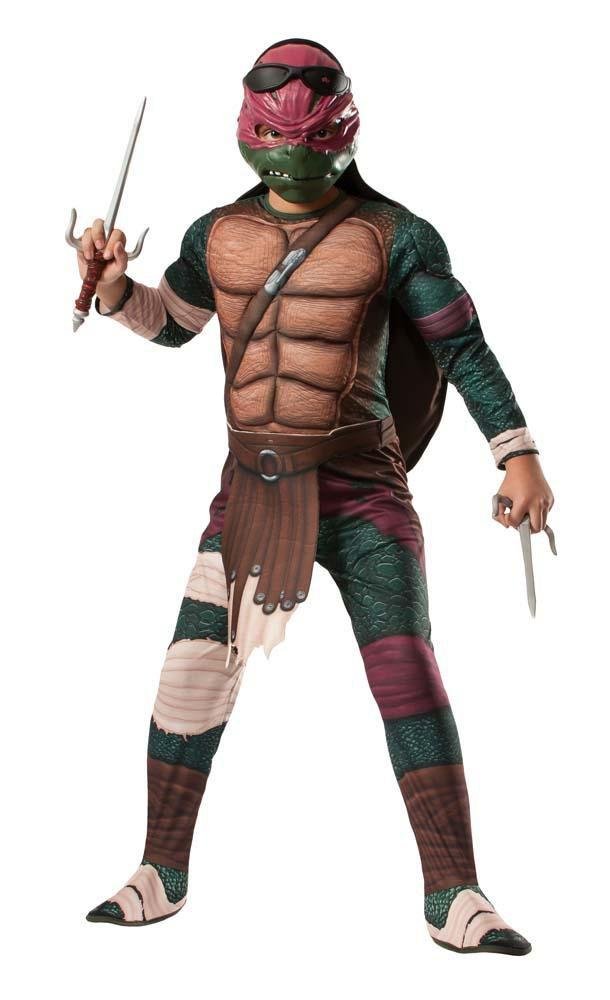 Rubies Costumes Boys Deluxe Raphael Costume - Teenage Mutant Ninja Turtles