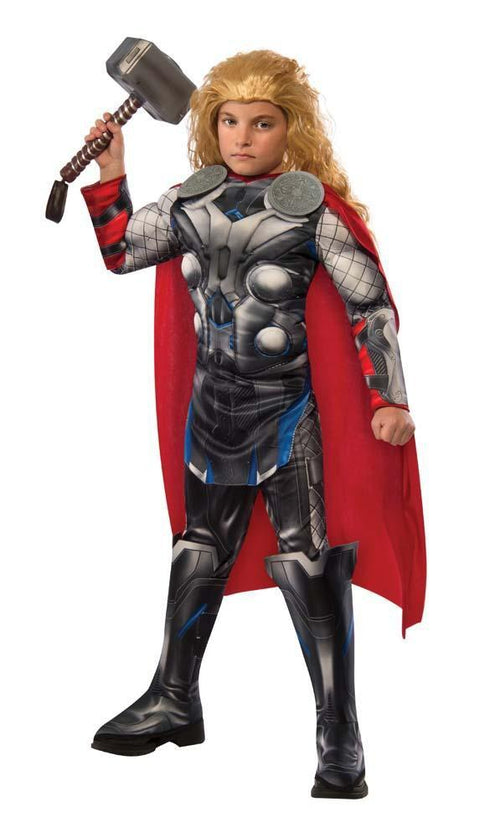 Rubies Costumes Boys Deluxe Thor Costume - Avengers 2