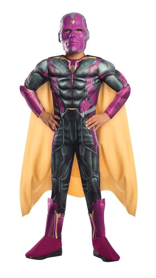 Rubies Costumes Boys Deluxe Vision Costume - Avengers 2
