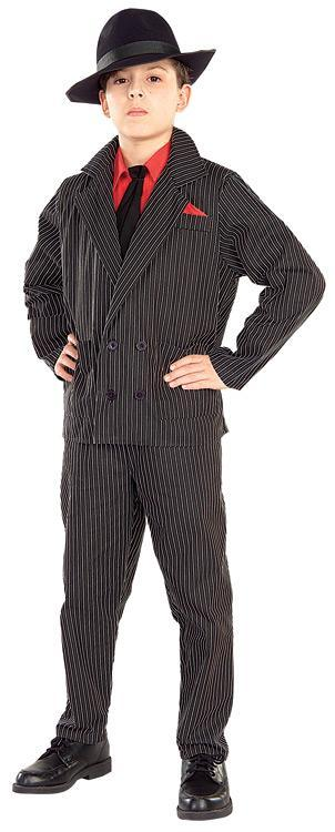 Rubies Costumes Boys Gangster Costume