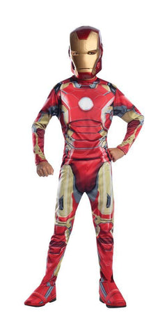 Boys Iron Man Mark 6 Classic Costume