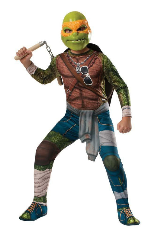 Rubies Costumes Boys Michelangelo Costume - Teenage Mutant Ninja Turtles