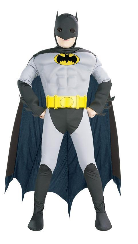 Rubies Costumes Boys Muscle Batman Costume