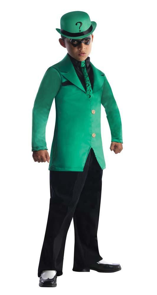 Rubies Costumes Boys Riddler Costume - Batman