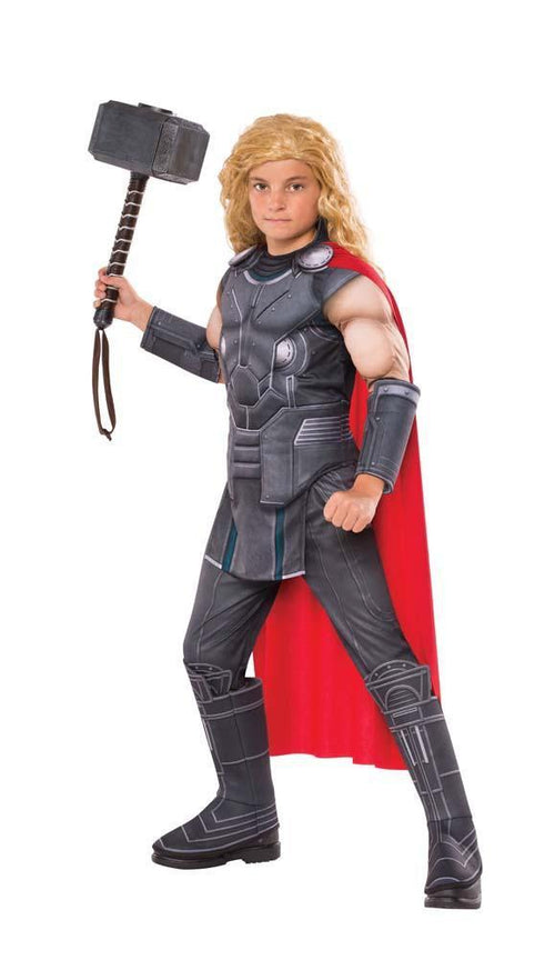 Rubies Costumes Boys Thor Muscle Costume - Ragnarok