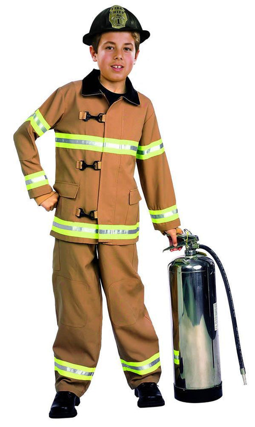 Rubies Costumes COLOR / LARGE Boys Firefighter Costume