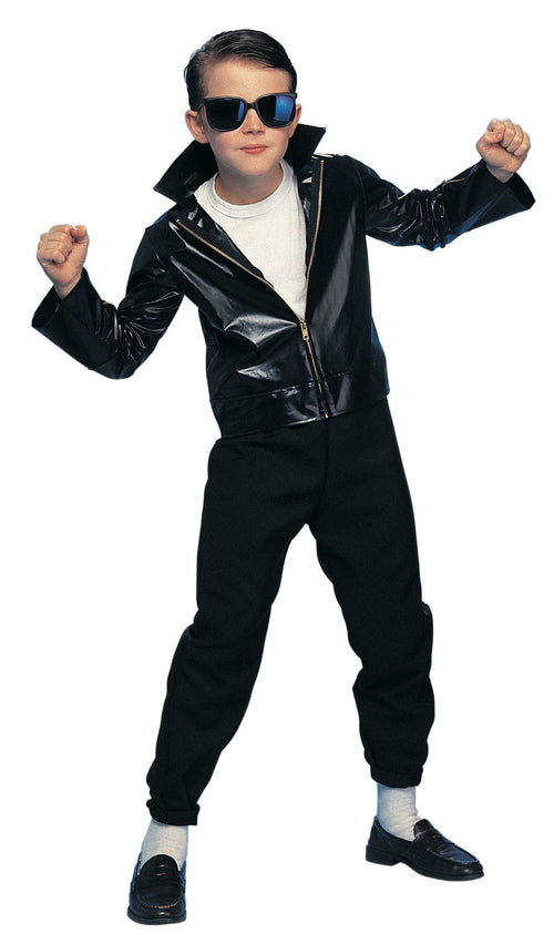 Rubies Costumes COLOR / LARGE Boys Greaser Costume Jacket