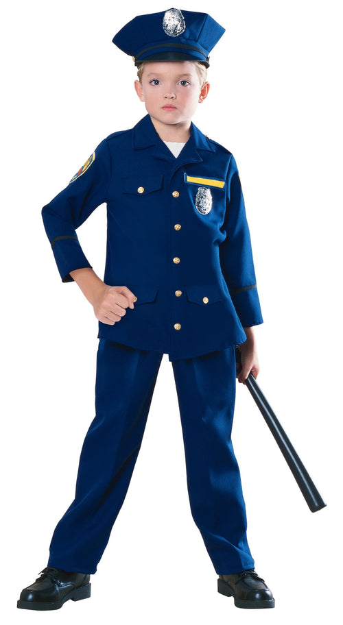 Rubies Costumes COLOR / LARGE Boys Police Officer Costume