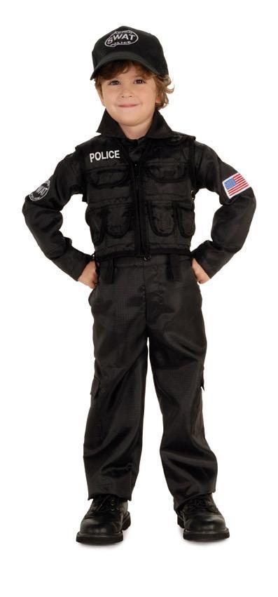 Rubies Costumes COLOR / LARGE Boys S.W.A.T. Police Costume