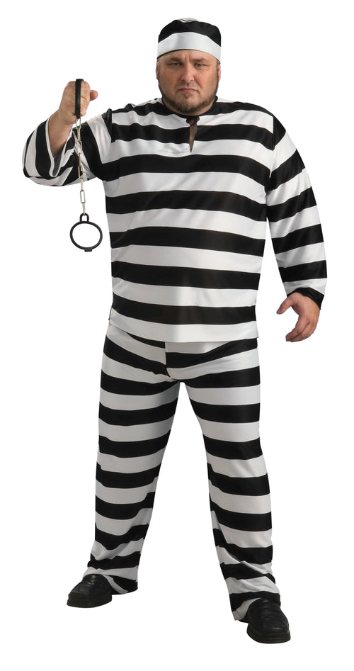 Rubies Costumes Convict Man Prisoner Plus Size Costume