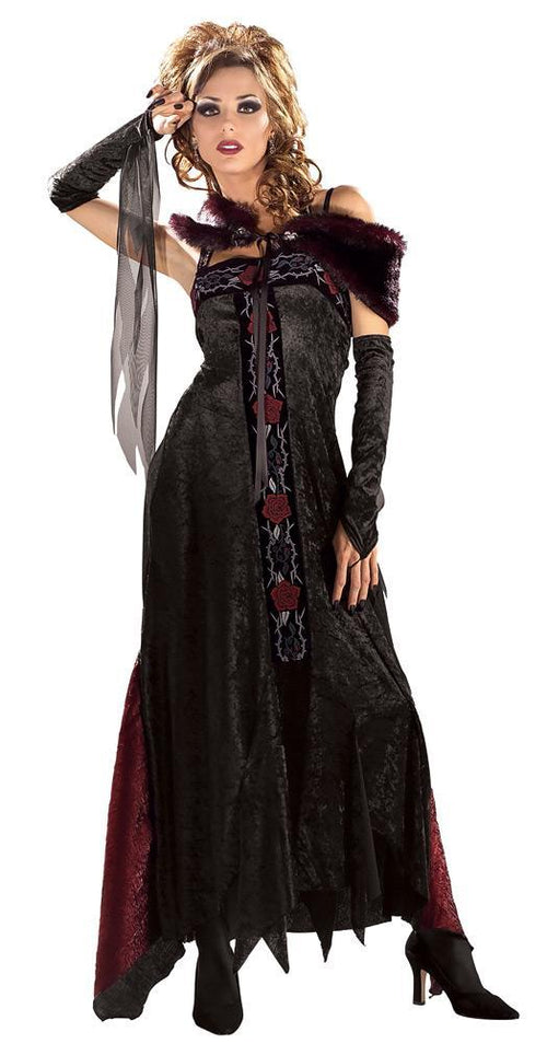 Rubies Costumes Covent Gothic Rose Vampire Costume