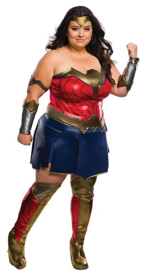 Rubies Costumes Deluxe Wonder Woman Plus Size Costume