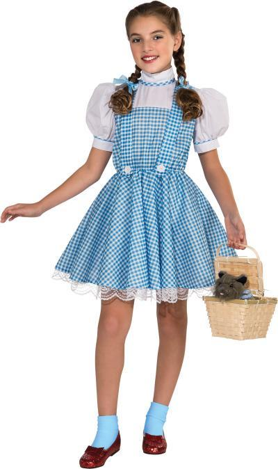 Rubies Costumes Girls Deluxe Dorothy Costume - Wizard of Oz