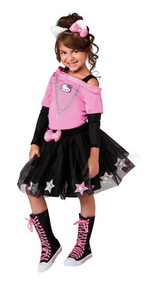 Rubies Costumes Girls Hello Kitty Rockstar Costume