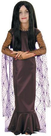 Rubies Costumes Girls Morticia Costume - Addams Family
