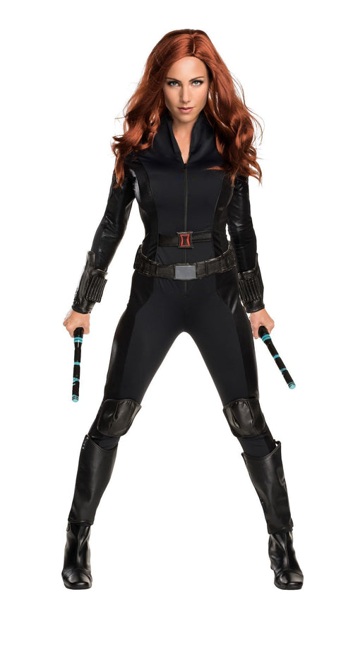 Rubies Costumes LARGE Adult Deluxe Black Widow Costume