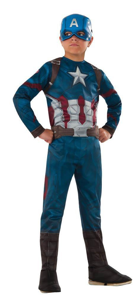 Rubies Costumes LARGE Boys Captain America Classic Costume