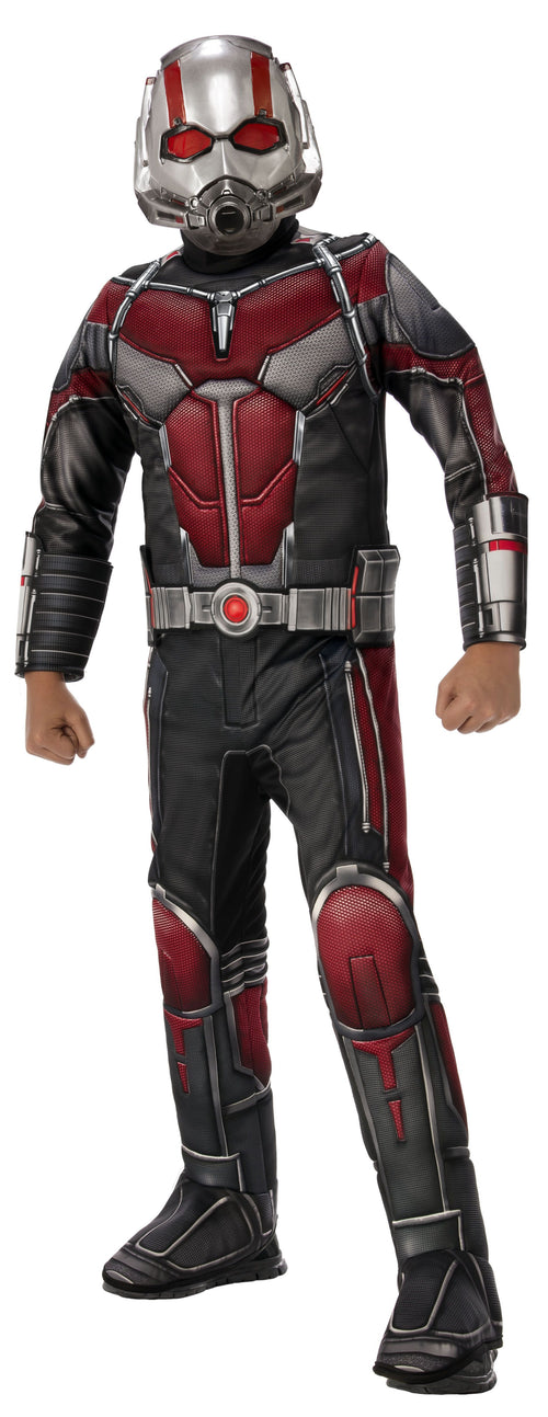 Rubies Costumes LARGE Boys Deluxe Ant-Man Costume - Ant-Man and the Wasp