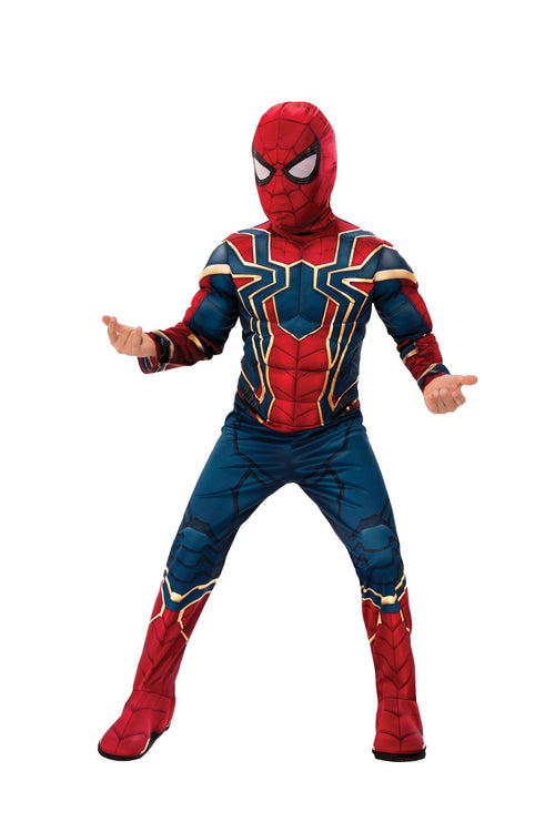 Rubies Costumes LARGE Boys Deluxe Iron Spider Costume - Avengers: Infinity War