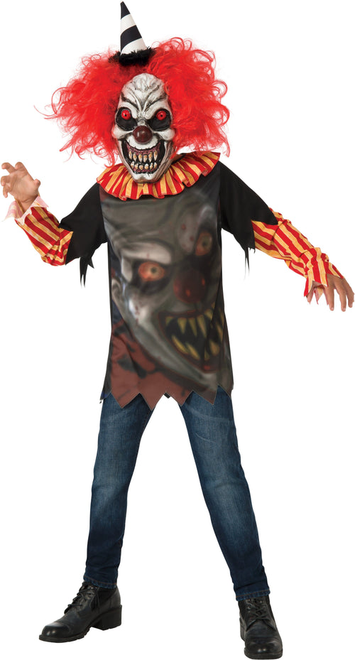Rubies Costumes LARGE Boys Freako The Clown Costume