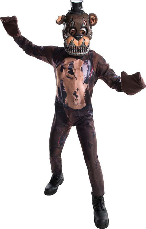 Rubies Costumes LARGE Boys Freddy Nightmare Costume - Five Nights at Freddy's