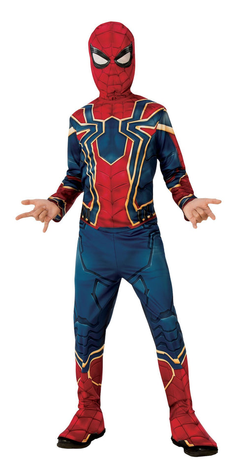 Rubies Costumes LARGE Boys Iron Spider Costume - Avengers: Infinity War