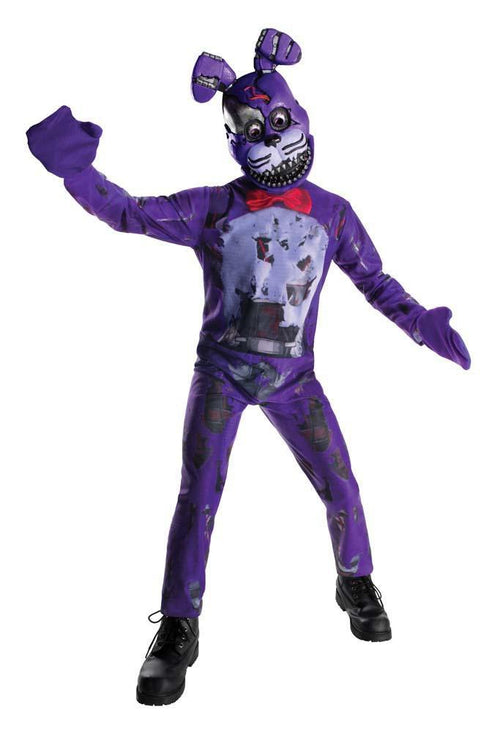 Rubies Costumes LARGE Boys Nightmare Bonnie Costume - Five Nights at Freddy's
